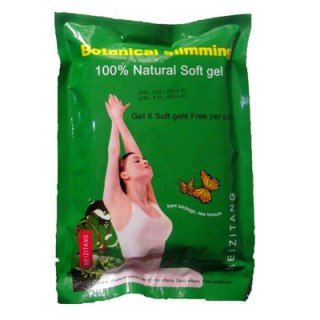 1 Pack NEW Meizitang Botanical Slimming Natural Soft Gel